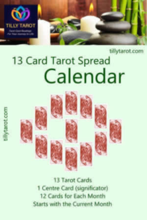 Years Forecast Tarot Reading - The Calendar Spread by Tilly Tarot