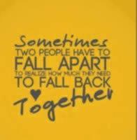 can we get back together