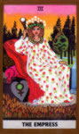 GOLDEN RIDER TAROT - THREE THE EMPRESS