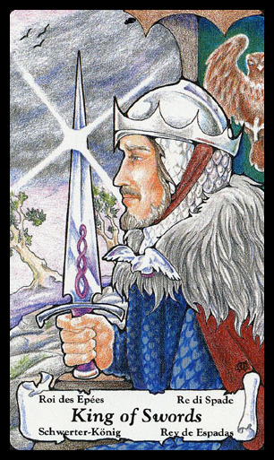 HANSON-ROBERTS by Mary Hanson-Roberts (1985) - King of Swords