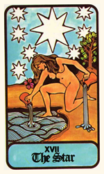 Hoi Polloi Tarot Deck The Star Card Tarot Card