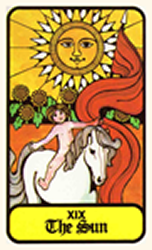 Hoi Polloi Tarot Deck The Sun Tarot Card